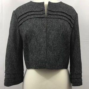 Women's gray pink blazer jacket Jessica Howard 10